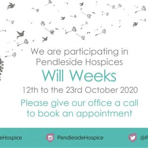 Will Weeks in Aid of Pendleside Hospice blog featured image